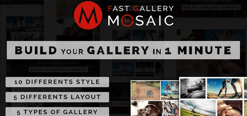 Fast Gallery Mosaic