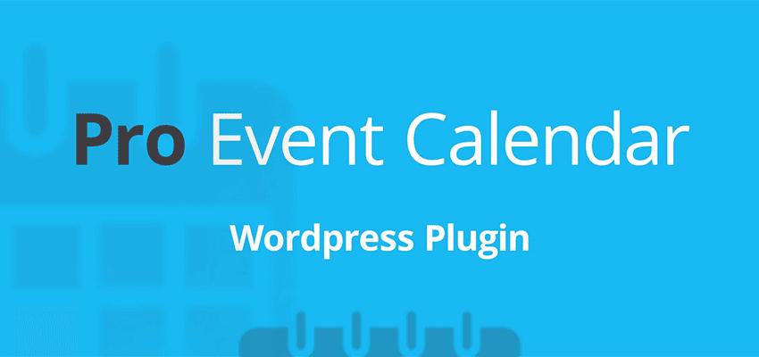 Pro Event Calendar