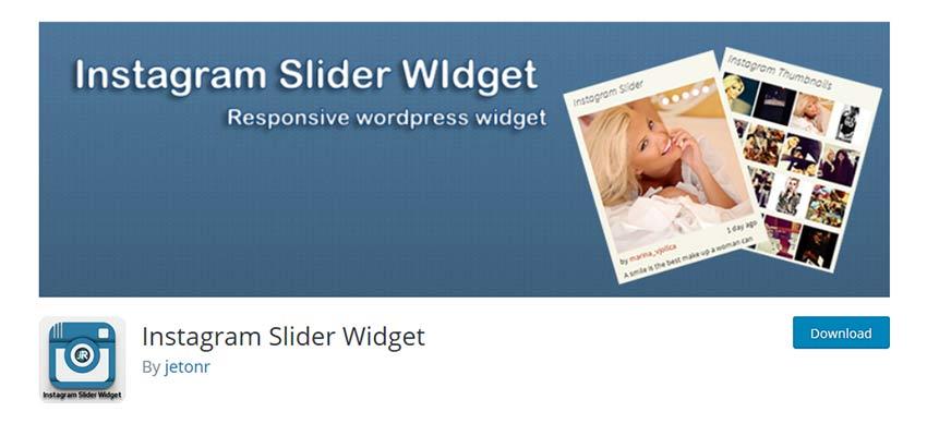 Widget Instagram Slider