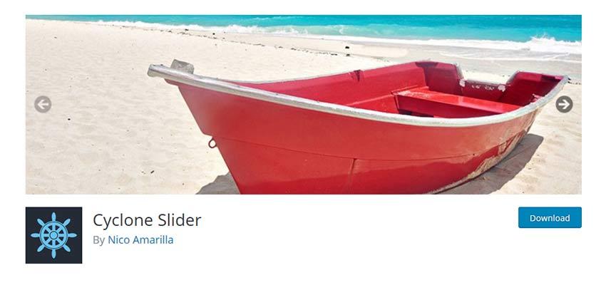 Cyclone Slider