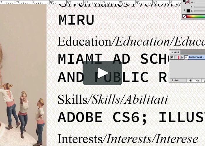 Inspiring and Creative Designers' Video CVs