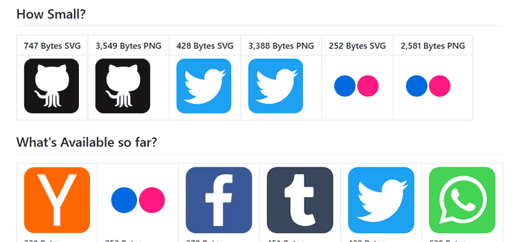 Super Tiny Social Icons
