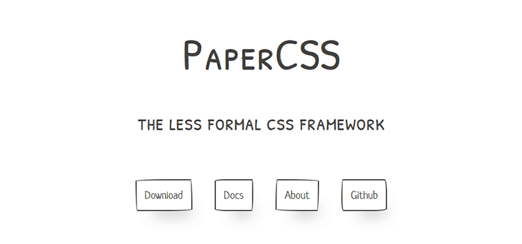 CSS Resources Free PaperCSS