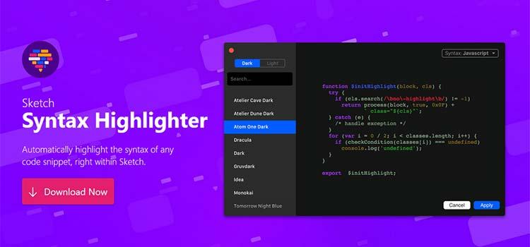 Sketch Syntax Highlighter