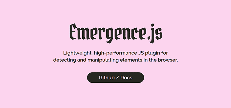 Emergence.js