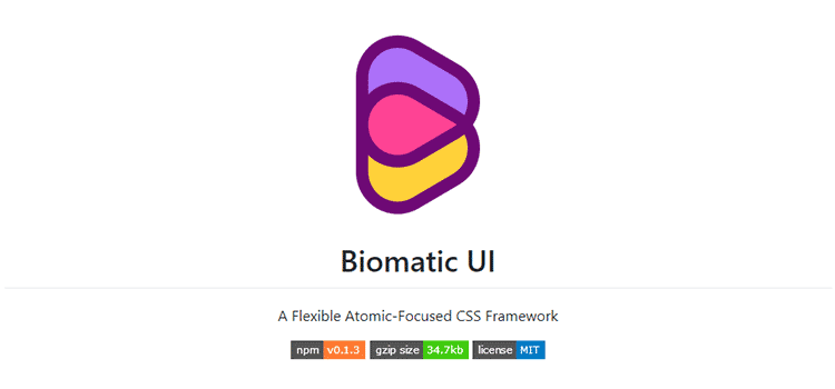 CSS Resources Free Biomatic UI