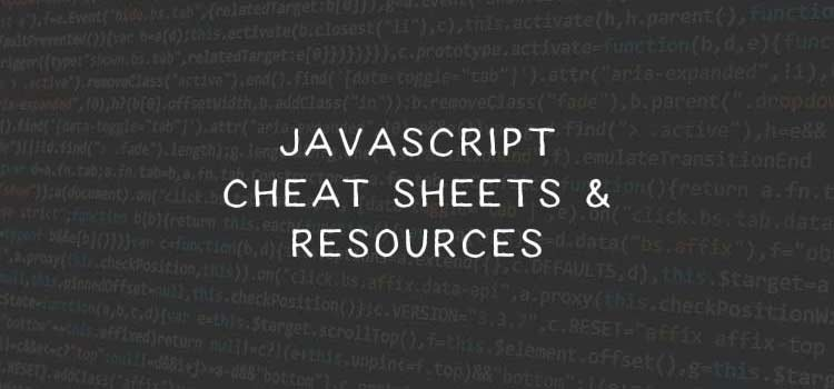 Top Cheatsheets and Reference Guides for JavaScript