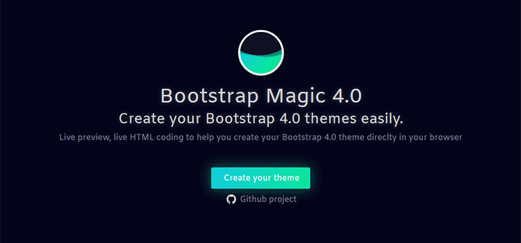 Bootstrap Magic 4.0