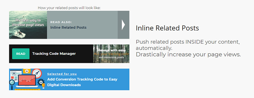 Intelly Related Posts  - 03 intelly related posts - The 8 Best Related Post Plugins For WordPress
