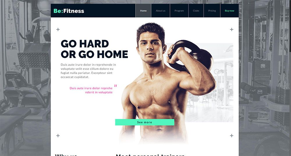 Fitness Three Ways to Keep Your Web Design Clients Happy Next Year - be theme 14 - Three Ways to Keep Your Web Design Clients Happy Next Year