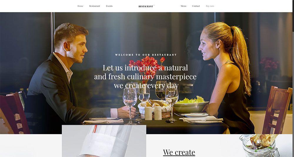 Restaurant2 Three Ways to Keep Your Web Design Clients Happy Next Year - be theme 19 - Three Ways to Keep Your Web Design Clients Happy Next Year