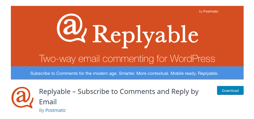 Replyable