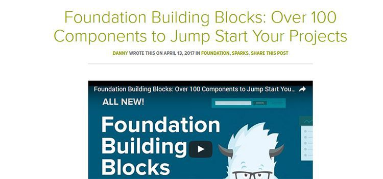 Foundation Building Blocks