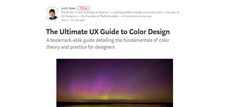 The Ultimate UX Guide to Color Design