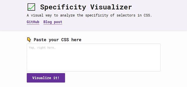 Specificity Visualizer