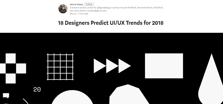 18 Designers Predict UI/UX Trends for 2018