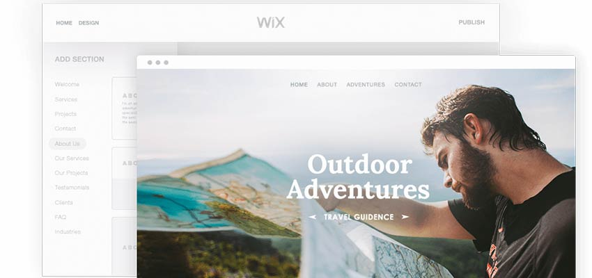 Start Creating With Wix