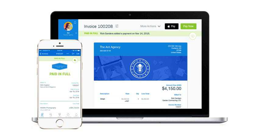 Accept Payments with Freshbooks