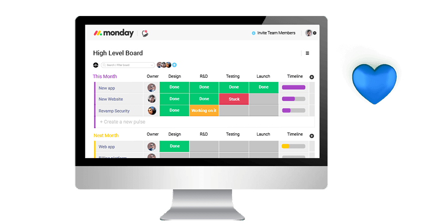 Boards That Do It All  - monday task management 01 - Collaborate, Stay on Task and Get Things Done With Monday.com