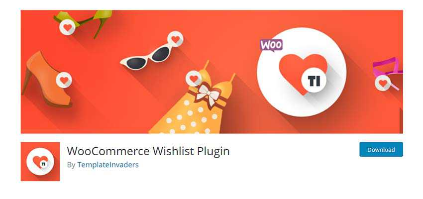 WooCommerce Wishlist Plugin