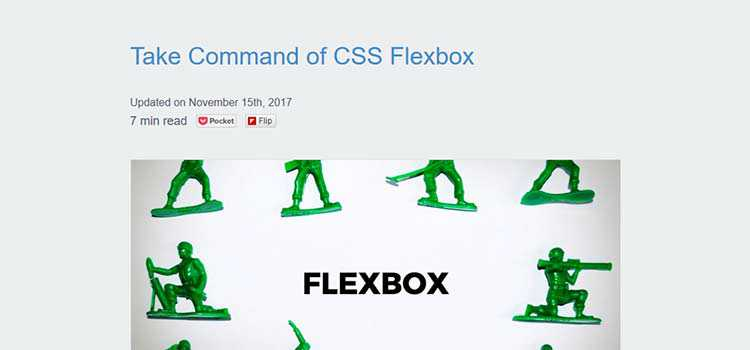 Take Command of CSS Flexbox