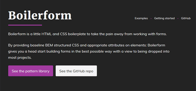 CSS Resources Free Boilerform