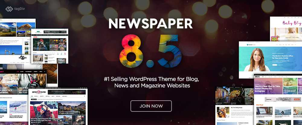 Newspaper  - wordpress themes 2018 05 - 10 of the Best WordPress Themes for 2018 Sponsored