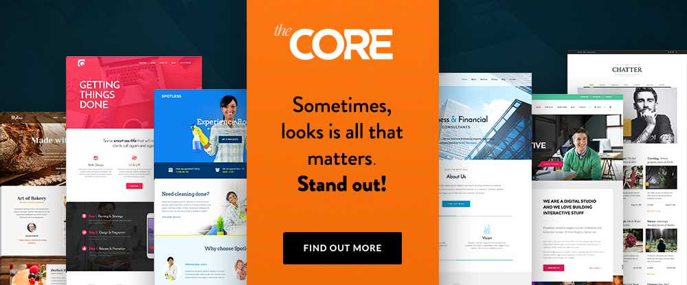 The Core  - wordpress themes 2018 07 - 10 of the Best WordPress Themes for 2018 Sponsored
