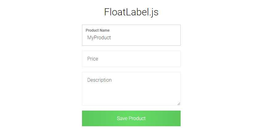 9 Free Floating Form Label jQuery & JavaScript Plugins