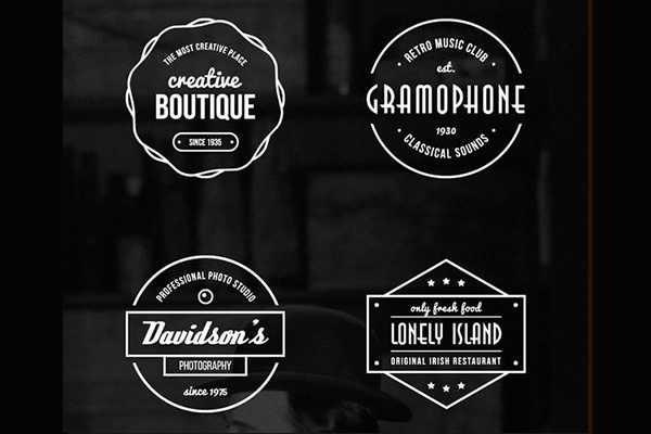16 Free Vintage Logo & Badge Vector Templates (AI & EPS)