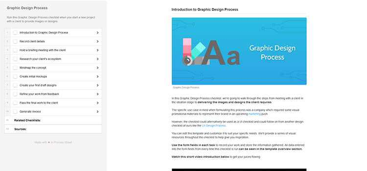 Introduction to Graphic Design Process