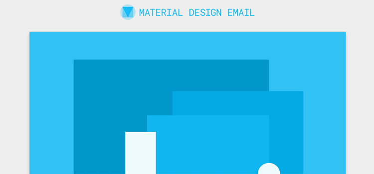 Free Material Design Email Template  - weekly news for designers feb 11 09 - Weekly News for Designers № 423