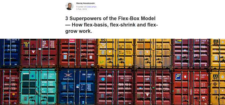 3 Superpowers of the Flex-Box Model