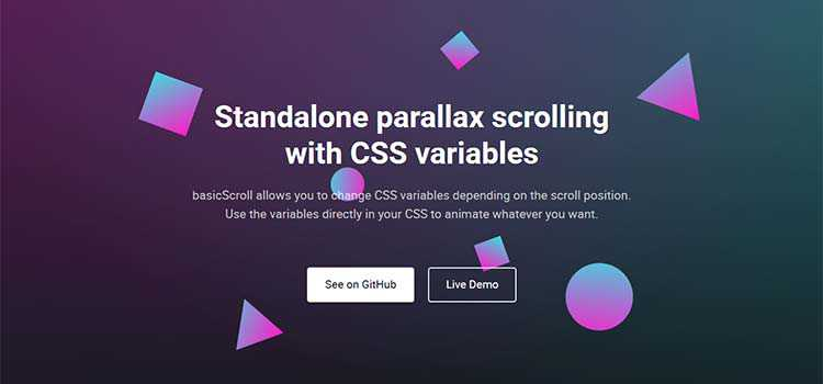 CSS Resources Free basicScroll