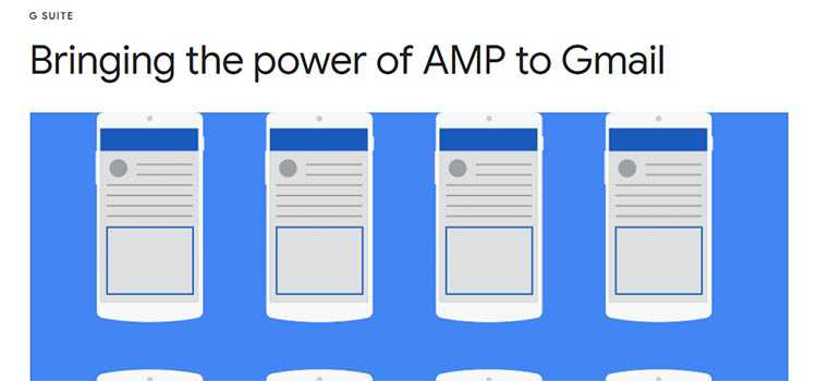 Bringing the power of AMP to Gmail