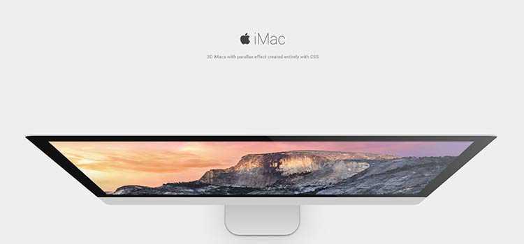 3D iMacs