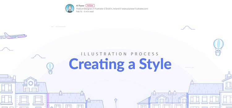Illustration Process: Creating a Style  - weekly news for designers feb 25 02 - Weekly News for Designers № 425