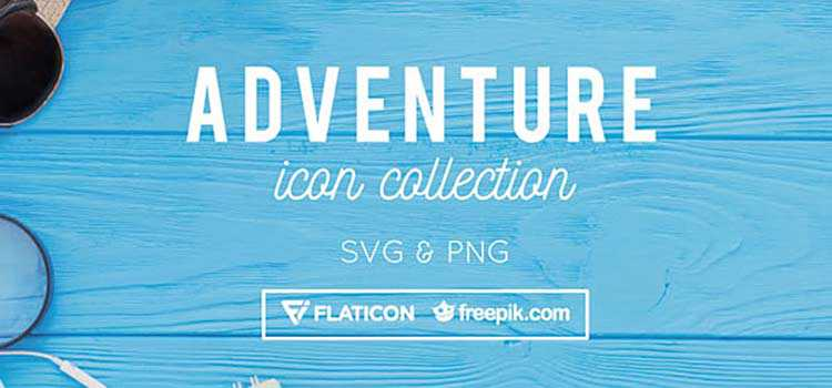 Free Adventure Icon Collection