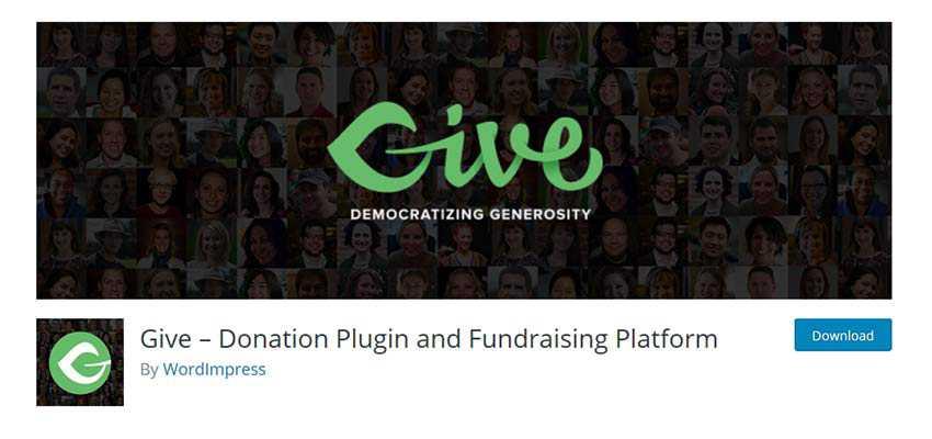 Give WordPress Plugin
