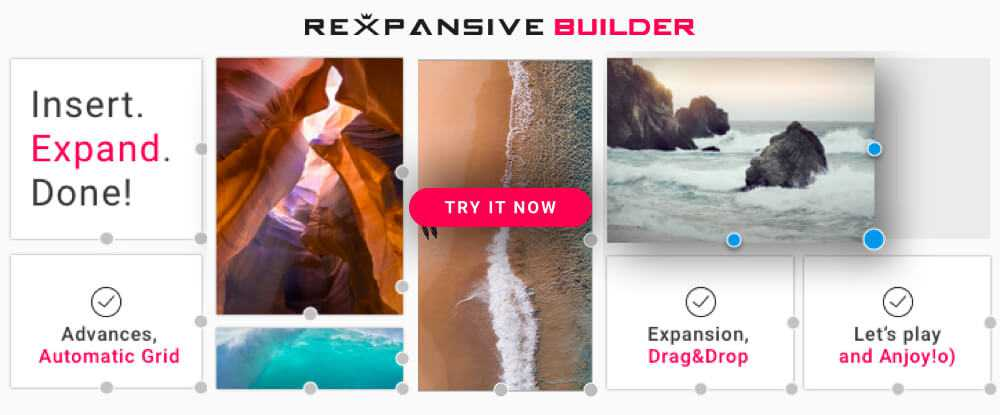 REXPANSIVE – Page Builder for WordPress  - wp extend plugins 2018 04 - Extend Your WP Functionality with The Best WordPress Plugins for 2018