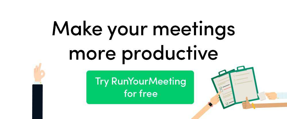 RunYourMeeting productivity tools