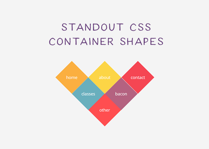 10 Examples of Unorthodox Shapes Created with CSS