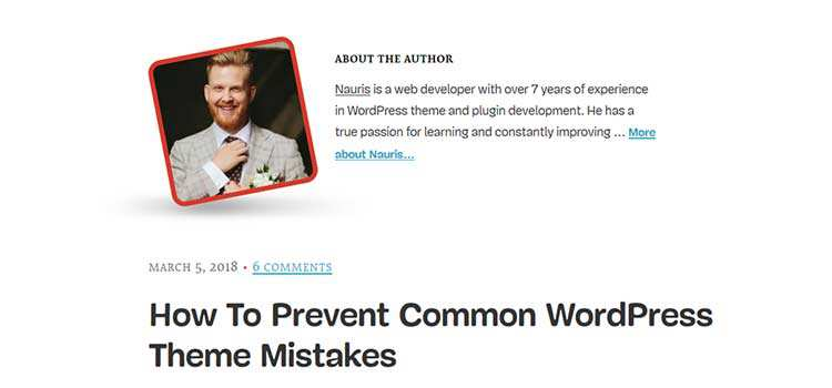 How To Prevent Common WordPress Theme Mistakes