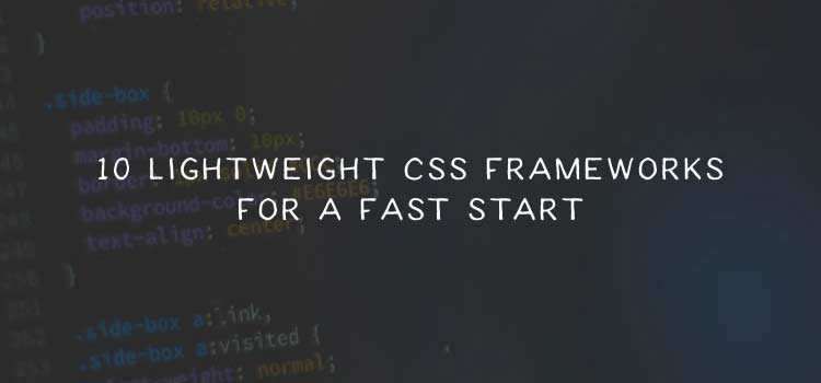 20 Responsive & Lightweight CSS Frameworks  - weekly news for designers march 18 13 - Weekly News for Designers № 428