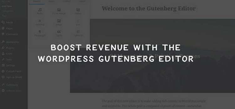 5 Ways the WordPress Gutenberg Editor Can Boost Revenue