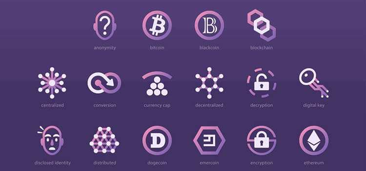 Free Cryptocurrency Icon Set