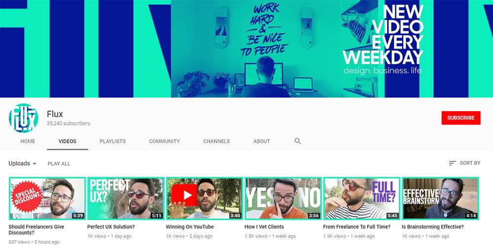 10 YouTube Channels For UX Design Tips & Tutorials