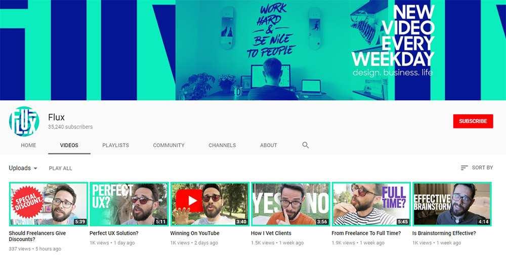 Flux YT channel