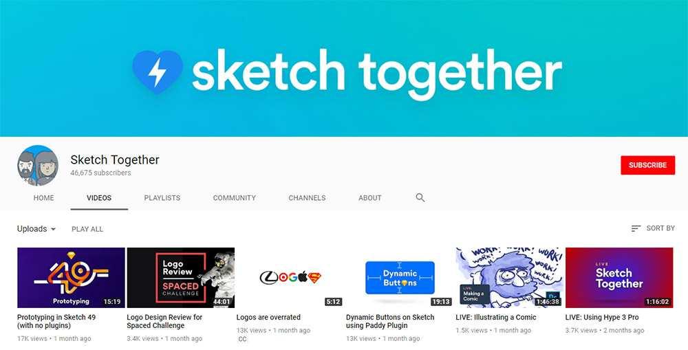 Sketch Together YouTube