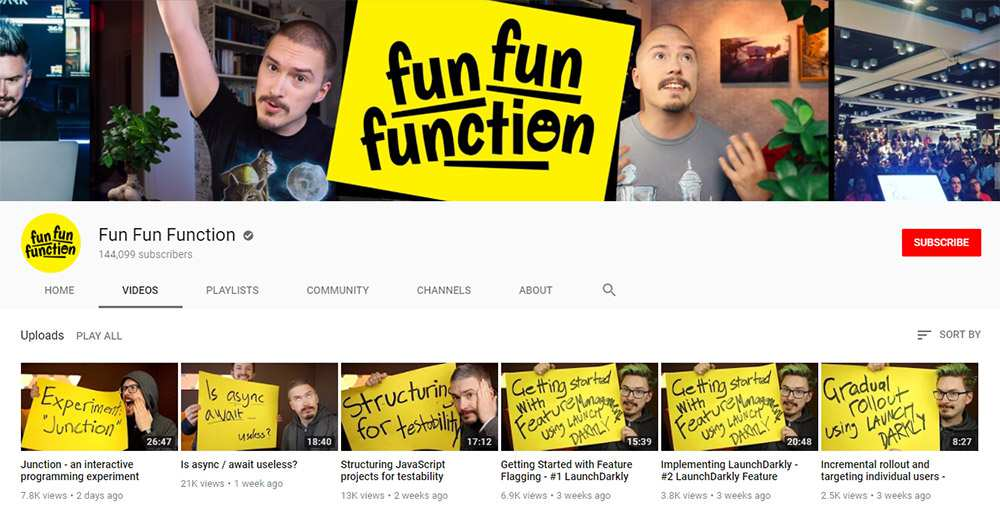 FunFunFunction youtube